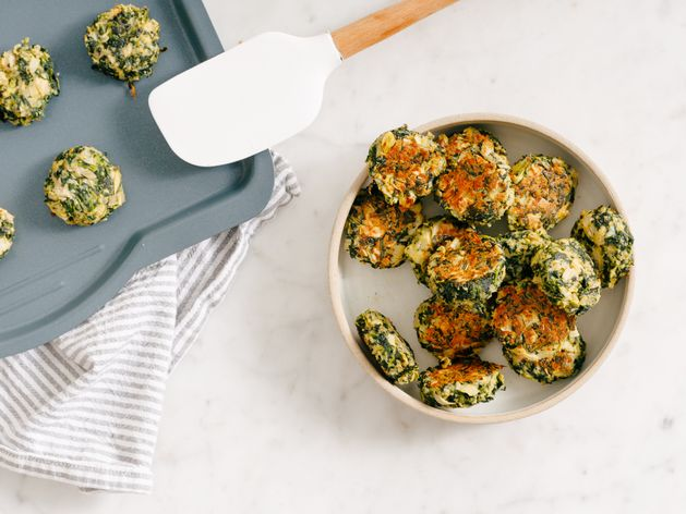 Spinach and Artichoke Bites wide display