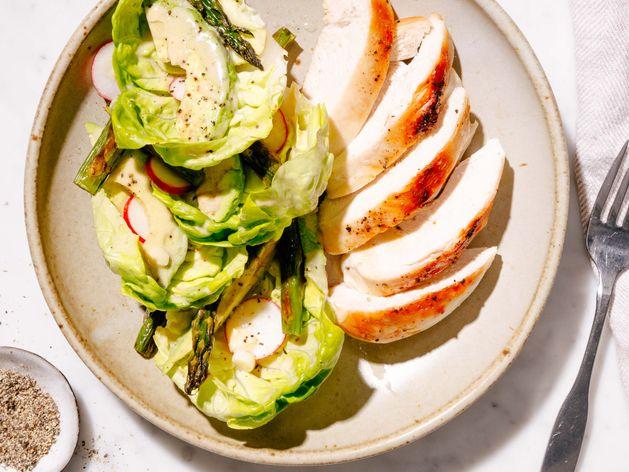 Spring Chicken Salad wide display