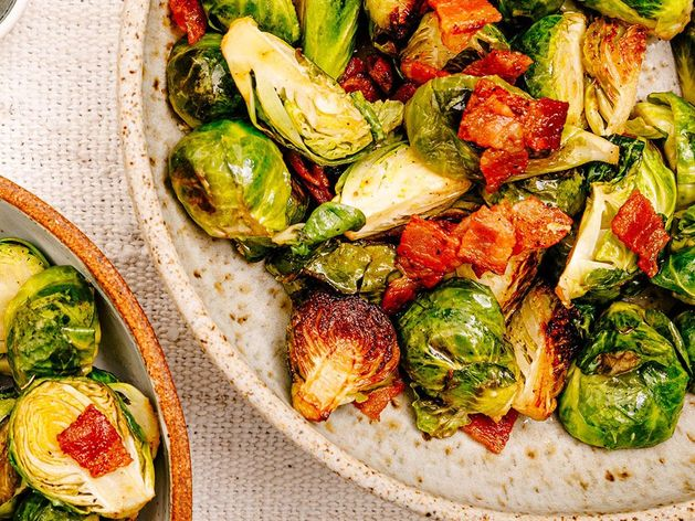 Savory Brussels Sprouts and Bacon