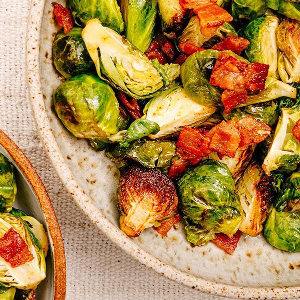 Savory Brussels Sprouts and Bacon narrow display