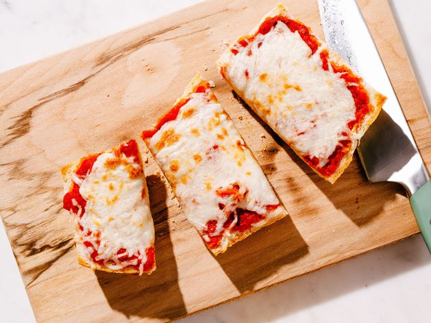 French Bread Pizza wide display