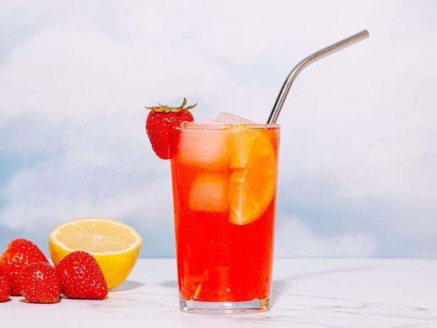Spiked Strawberry Lemonade wide display