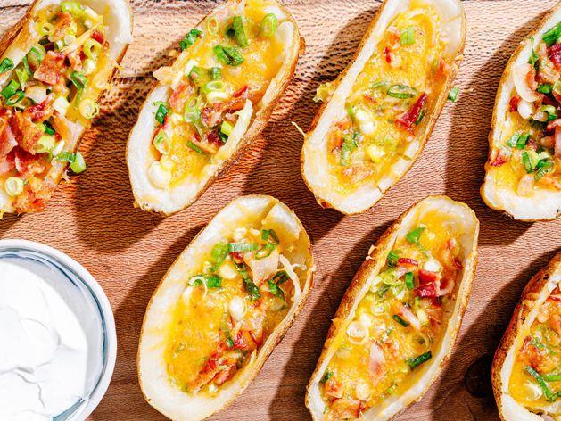 Brava Air Fried Potato Skins wide display