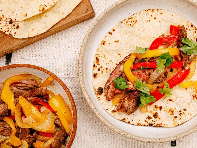 Skirt Steak Fajitas wide display