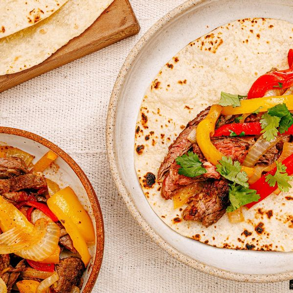 Skirt Steak Fajitas narrow display