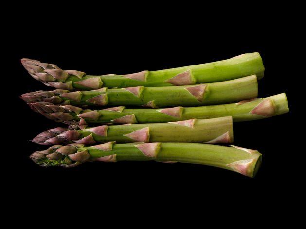 Asparagus wide display