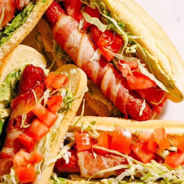 Bacon, Lettuce, Avocado and Tomato (BLAT) Hot Dogs narrow display