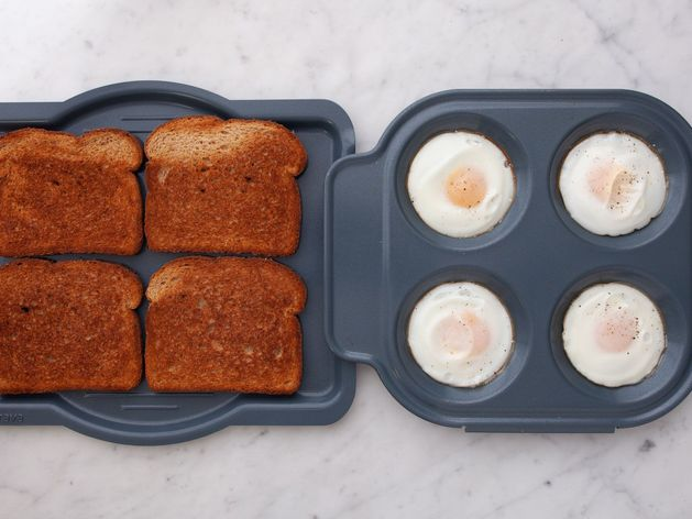 Eggs and Wheat Toast wide display