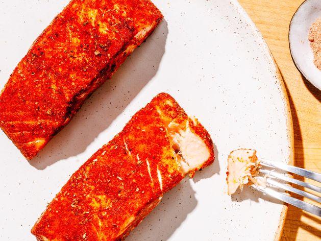 Blackened Salmon (Skinless) wide display
