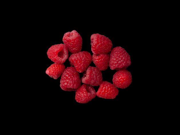 Raspberries wide display