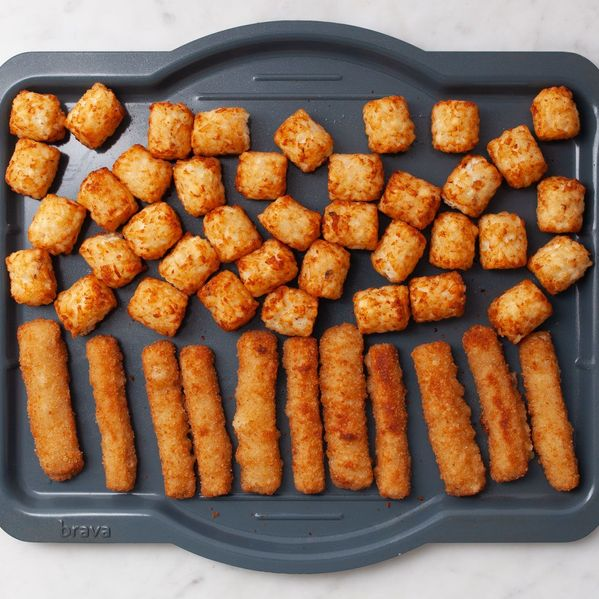 Frozen Fish Sticks and Frozen Tater Tots narrow display