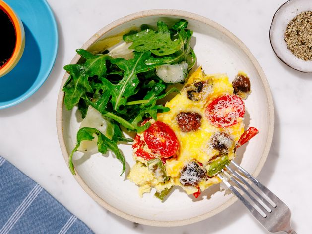 Frittata for a Crowd wide display