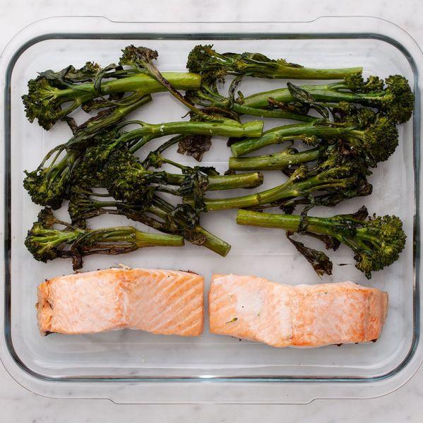 Salmon (Skinless) and Baby Broccoli narrow display