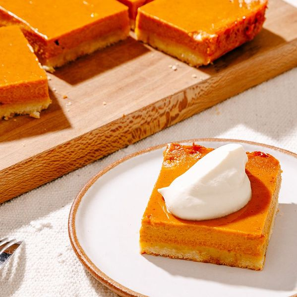 Pumpkin Pie Bars narrow display