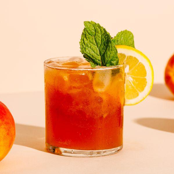 Roasted Peach Bourbon Smash narrow display