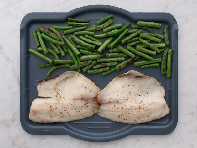 Tilapia and Green Beans wide display