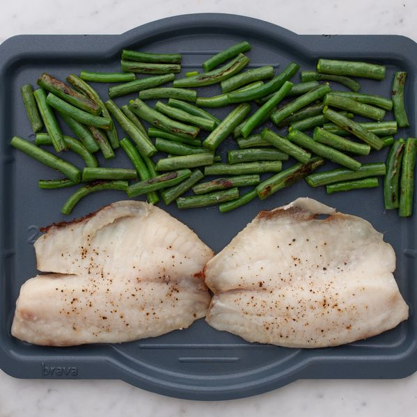 Tilapia and Green Beans narrow display