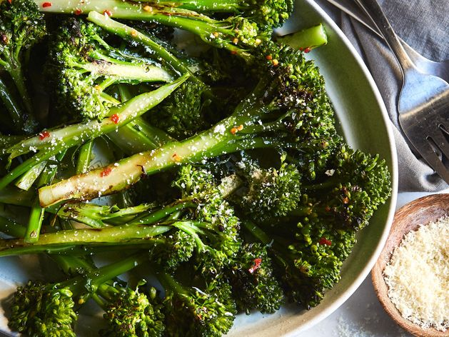 Roasted Baby Broccoli wide display