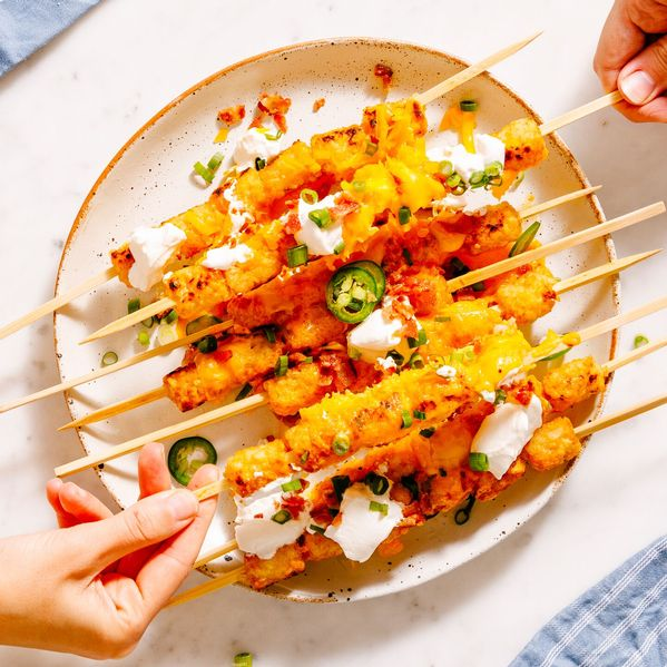 Loaded Tater Tot Kebabs narrow display