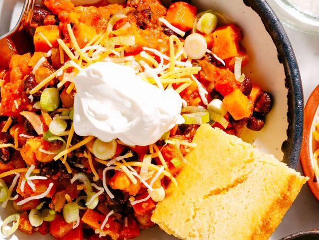 Veggie Chili wide display