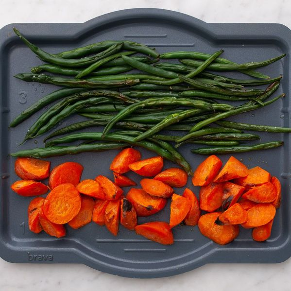 Carrots and Green Beans narrow display