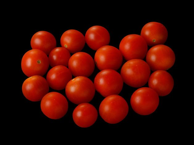 Cherry Tomatoes wide display
