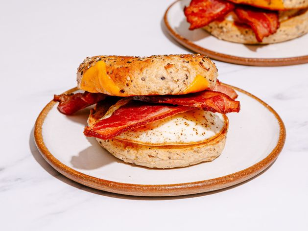 NY Bacon, Egg, and Cheese Bagel