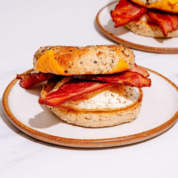 NY Bacon, Egg, and Cheese Bagel narrow display