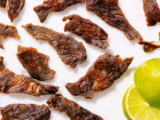 Thai-Style Beef Jerky wide display