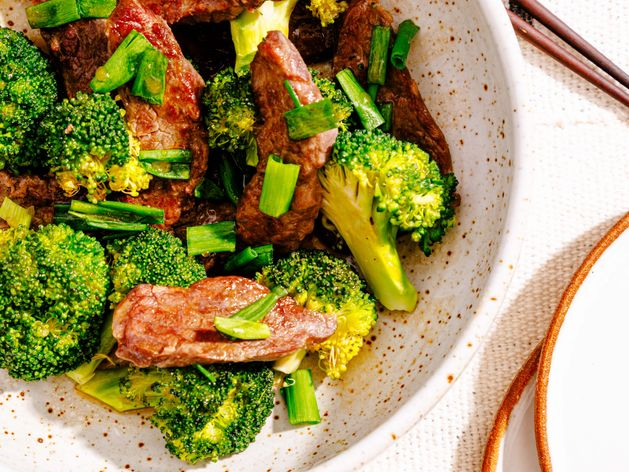 Chinese Beef and Broccoli wide display