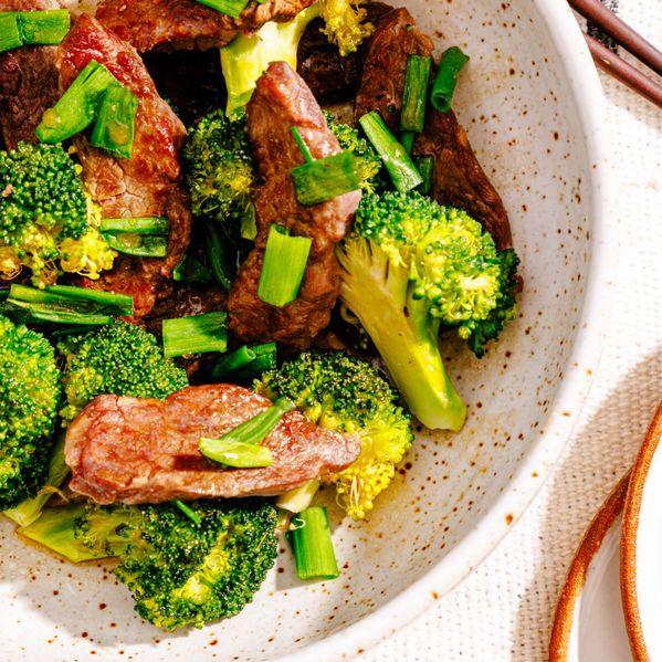 Chinese Beef and Broccoli narrow display