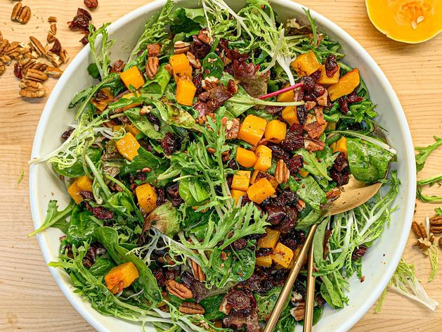 Roasted Squash Salad wide display