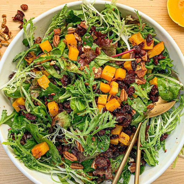 Roasted Squash Salad narrow display