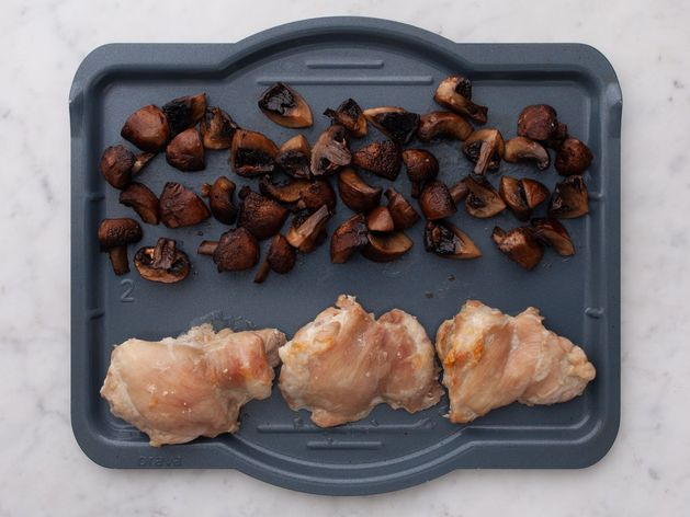 Chicken Thighs (Boneless and Skinless) with Mushrooms wide display