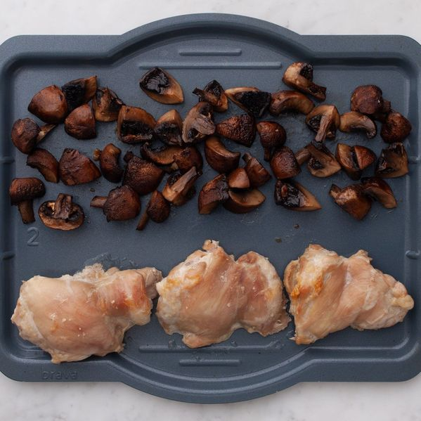 Chicken Thighs (Boneless and Skinless) with Mushrooms narrow display