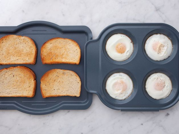Eggs and Sourdough Toast wide display
