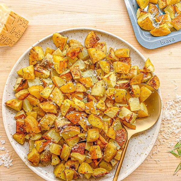 Roasted Rosemary Parmesan Potatoes narrow display