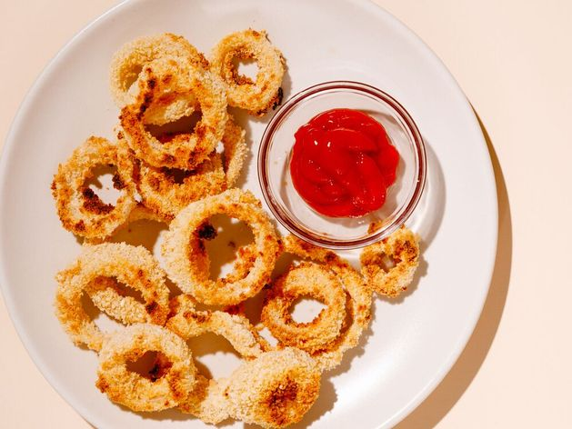 Oven-Fried Onion Rings wide display
