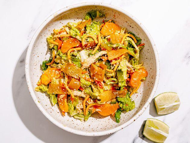 Chinese Chicken Salad wide display