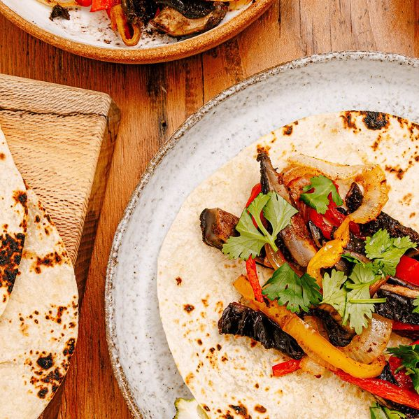 Portobello Mushroom Fajitas narrow display
