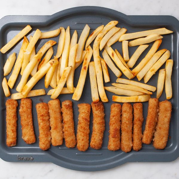 Frozen Fish Sticks and Frozen French Fries narrow display