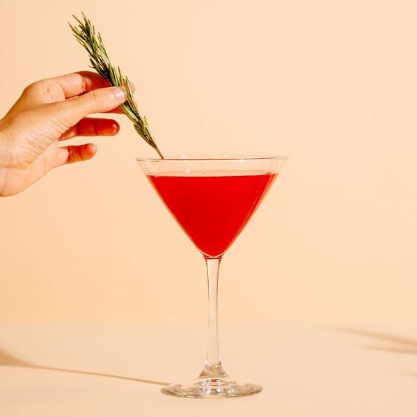 Winter Cranberry Cocktail narrow display