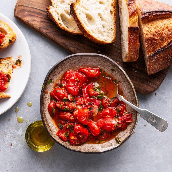 Roasted Tomato Bruschetta narrow display