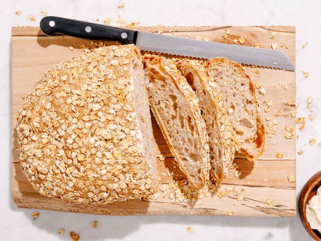 No-Knead Bread wide display