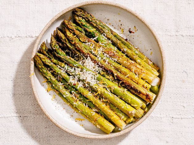 Roasted Asparagus with Garlic and Lemon wide display
