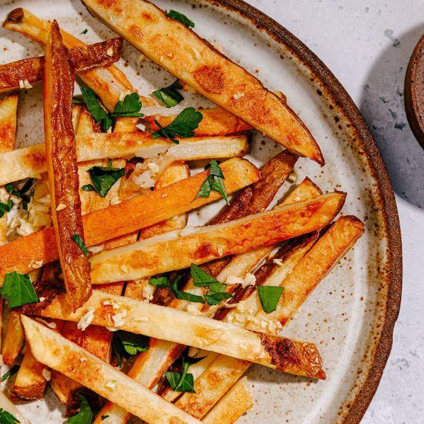 Garlic Fries narrow display