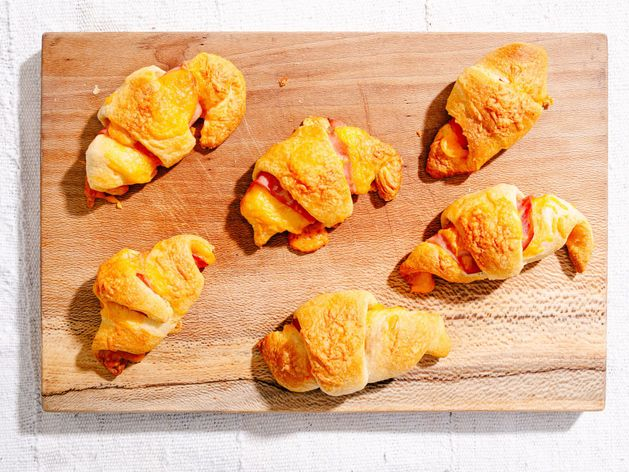 Ham and Cheese Crescent Rolls wide display