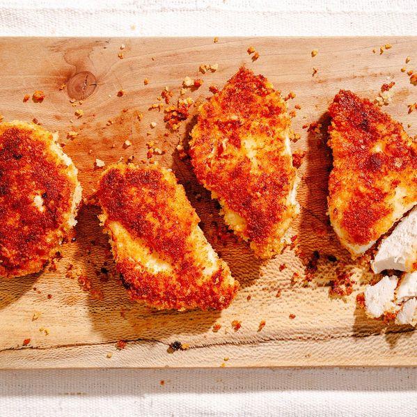 Crispy Chicken Breasts narrow display