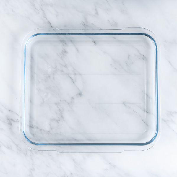 Brava Glass Tray narrow display