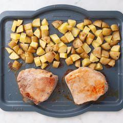 Pork Chops (Boneless) and Potatoes
